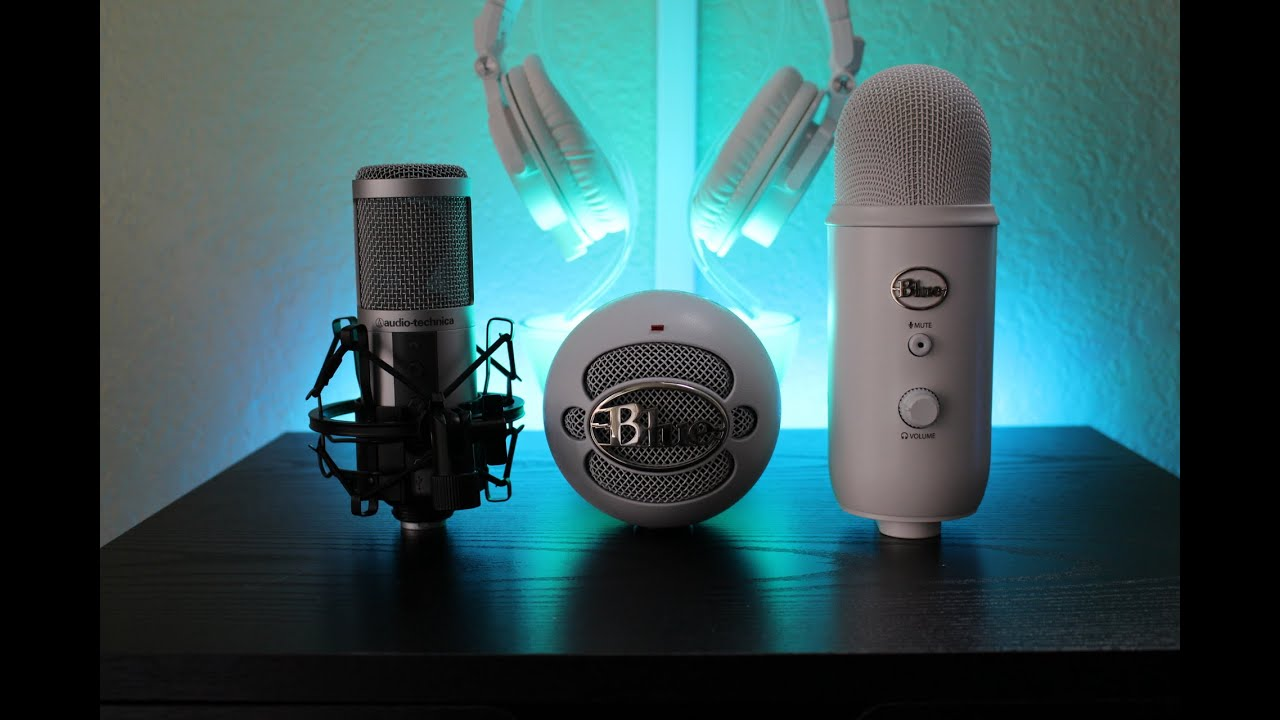 usb mic comparison yeti vs atr2500 vs snowball youtube. Black Bedroom Furniture Sets. Home Design Ideas