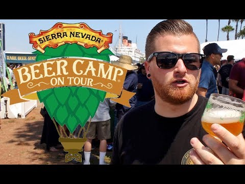 Let's Have Some Beer Episode 33: Sierra Nevada Beer Camp Festival (Long Beach, CA)