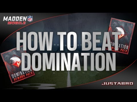 How To Always Win the Domination Live Event - Madden Mobile 16