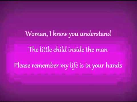 Woman the beatles lyrics