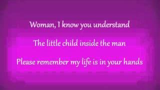 John Lennon-Woman (lyrics)