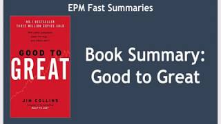 Скачать Book Summary Good To Great By Jim Collins