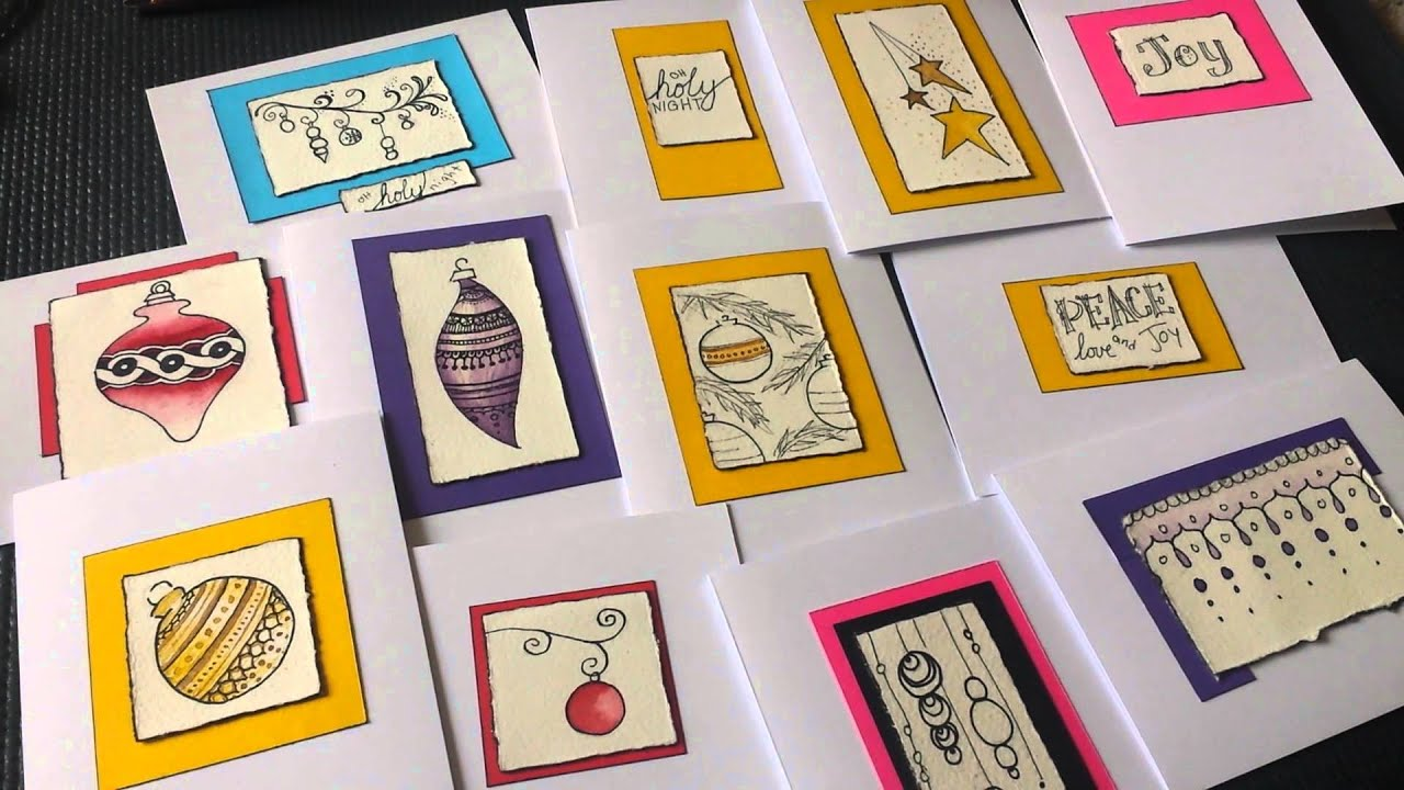 Easy Christmas Card Ideas: Zentangle and Henna Christmas Ornaments ...