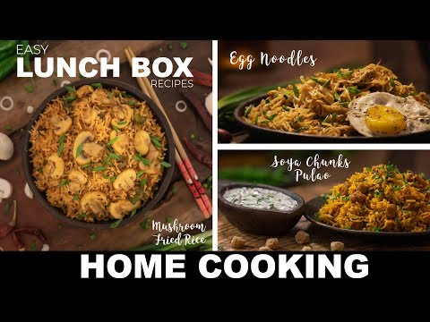 Easy Lunch Box Recipes | Lunch Box Ideas