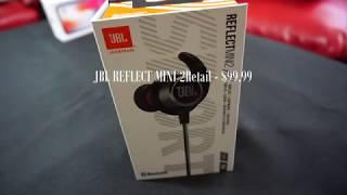 First Look - JBL Reflect Mini 2 Bluetooth In-Ear