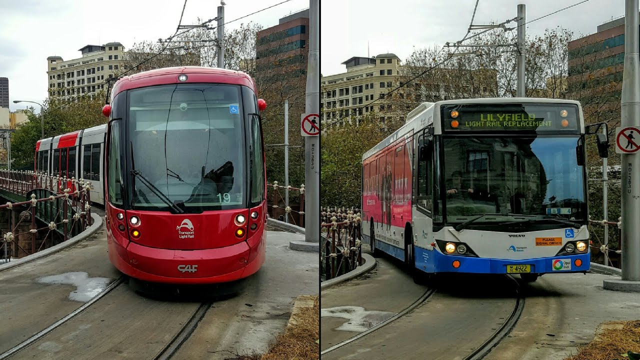 Stv central buses on the light rail track severe weather youtube mozeypictures Choice Image