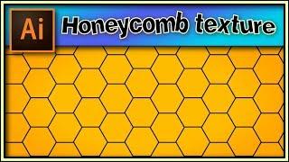 Honeycomb texture - Adobe Illustrator tutorial