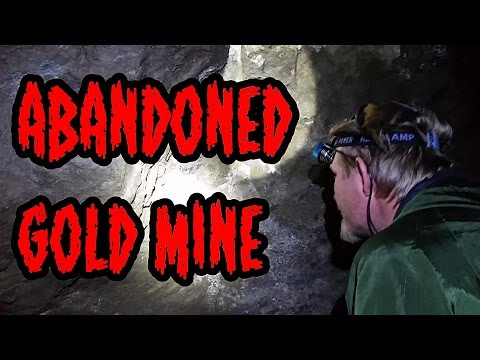ABANDONED GOLD MINE - hard rock mining w/ Gold Bug 2, Falcon md20, and a ghost