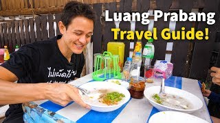 Luang Prabang Travel Guide - WHERE TO STAY, Street Food, and BEST COFFEE in Laos!