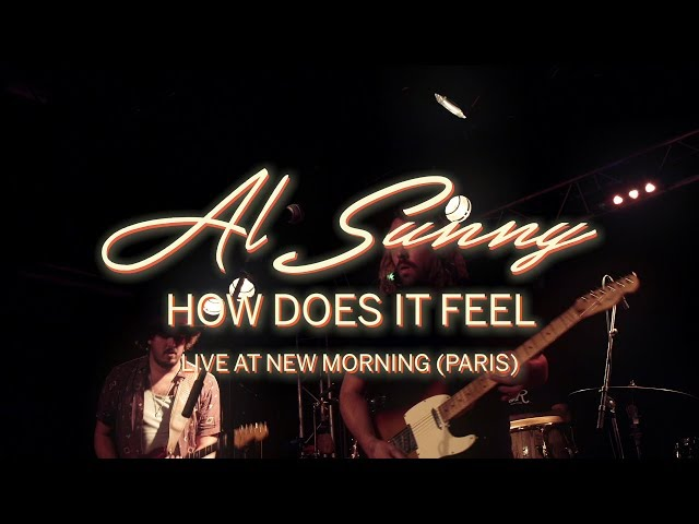 Al Sunny - How Does It Feel (Live at New Morning - Paris)