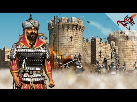 Stronghold Crusader - Mission 1 | Damascus,The Balance of Power Shifts (Saladin's Conquest)