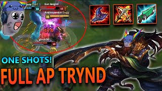FULL AP TRYNDAMERE MID - League of Legends Commentary