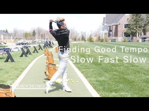 Finding Good Tempo – Slow Fast Slow