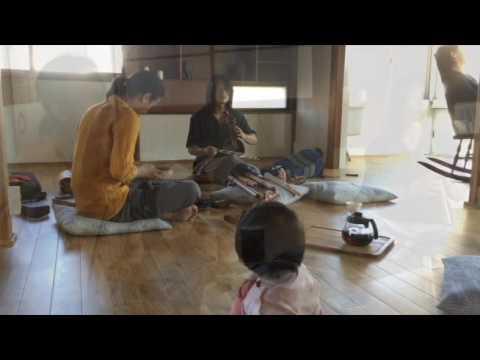 \音とリズムのリトリート in 鎌倉/ Gaineさんのインディアンフルート作り