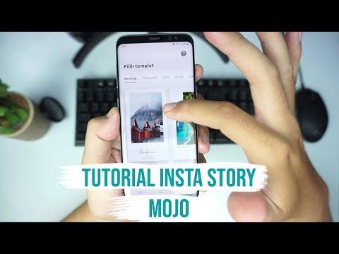 Tutorial Animasi Insta Story Mojo | Instagram Tutorial