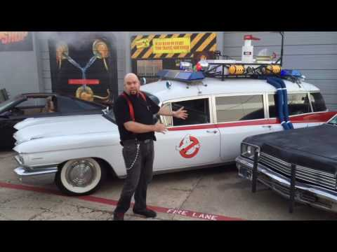 Bob's Prop Shop Fleet of Replica Movie Cars! The Most Amazing collection in the world!