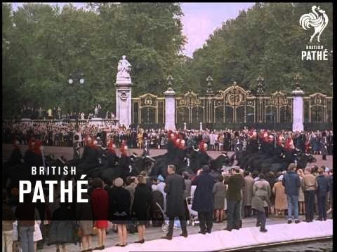 Shah Of Persia's Coronation + State Opening Of Parliament (1967)