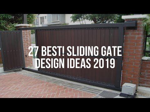 🔴-27-best!-sliding-gate-design-ideas