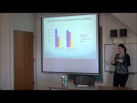 "Brownbag:""Ukrainian Language and Identity:...."", Alexandra Fisher (SLL), 2/03/15"