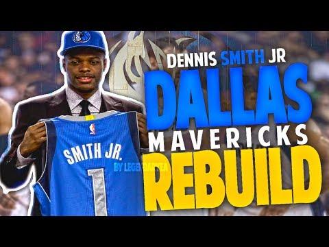 DENNIS SMITH JR 2017 MAVS REBUILD!! NEXT SUPERSTAR?!! NBA 2K17
