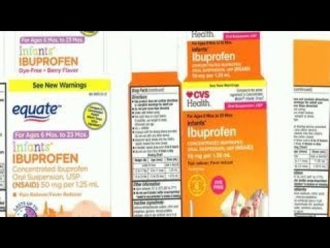 Valentine In The Morning - Liquid Infant Ibuprofen Sold At Certain Stores Has Been Recalled