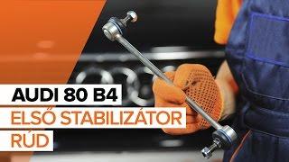 AUDI Stabilizátor összekötő kiszerelése - video útmutató