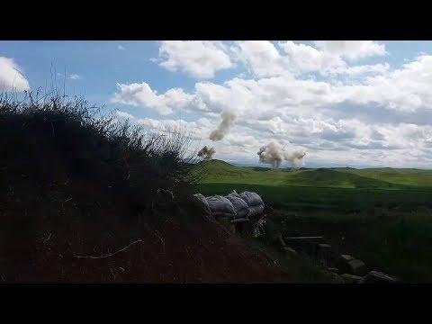 Уничтожение армянских войск - Cъемка из окопа
