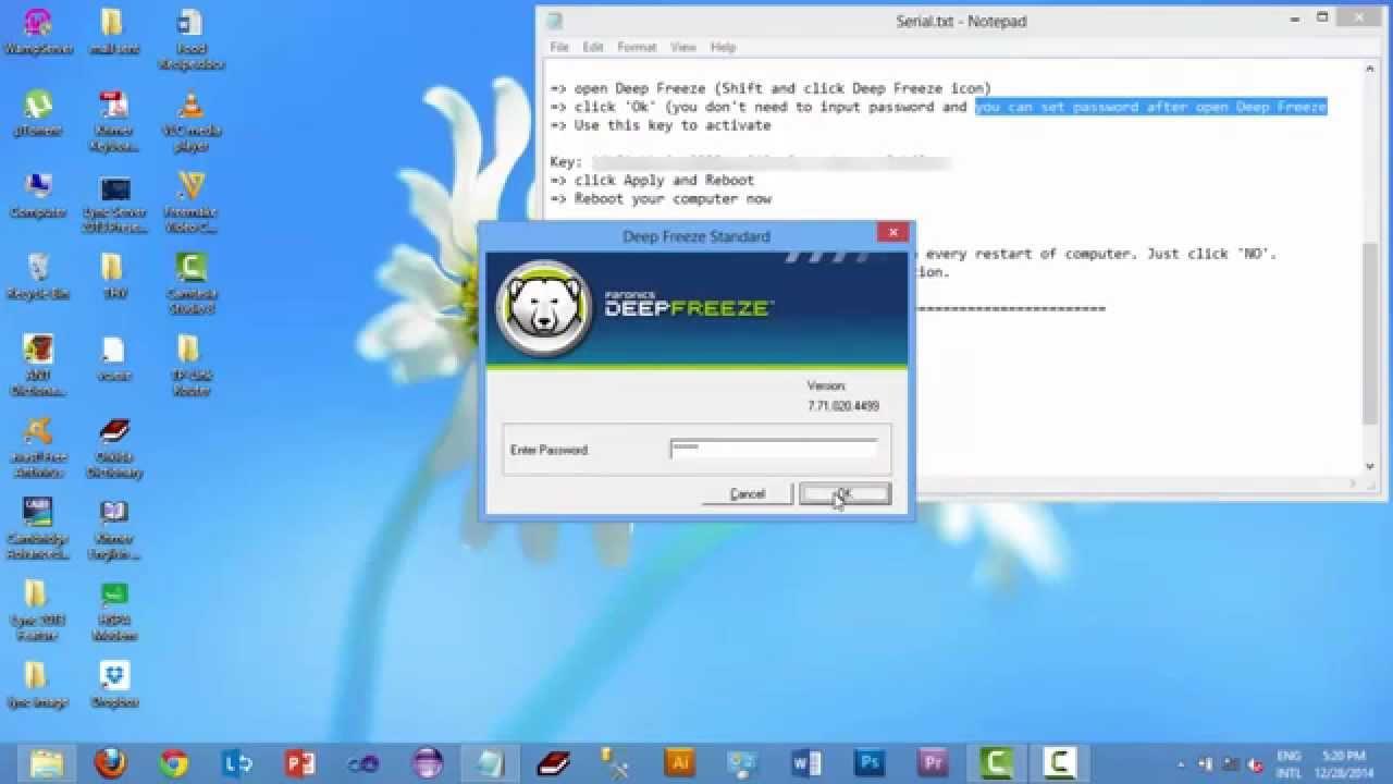 deep freeze standard 7.51 license key