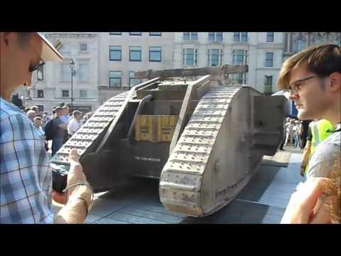 Replica Mark lV in Trafalgar Square for Tank 100