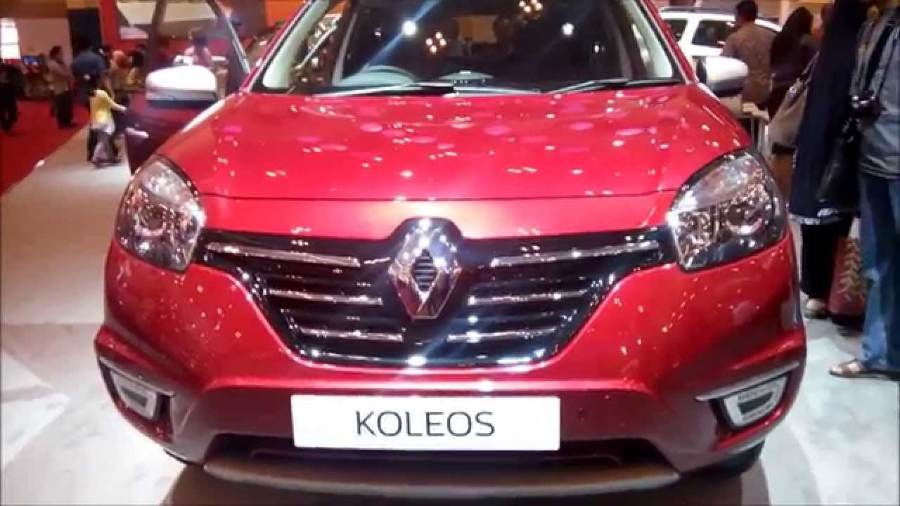 renault koleos giias 2015 youtube. Black Bedroom Furniture Sets. Home Design Ideas