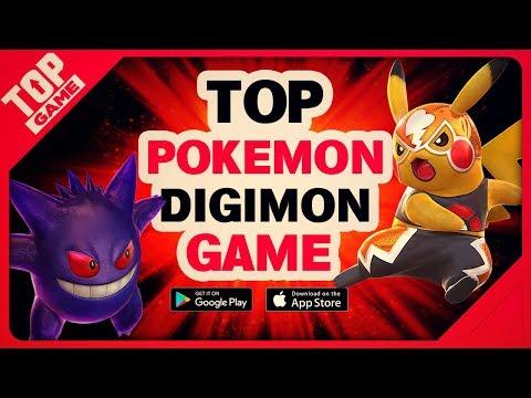 [Topgame] Top trò chơi di động Pokemon Digimon miễn phí mới hay nhất 2018