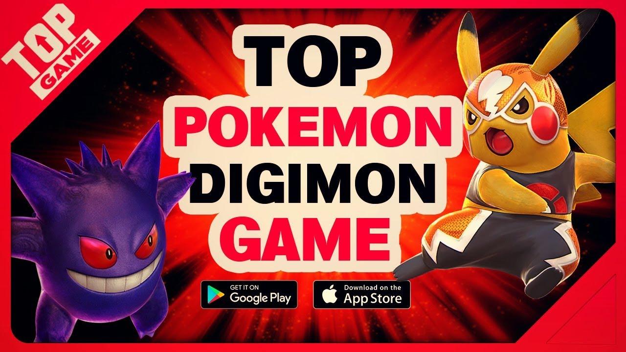 [Topgame] Top game mobie Pokemon – Digimon miễn phí mới hay nhất 2018