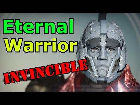 Destiny: Eternal Warrior (Striker Titan Exotic Helmet)