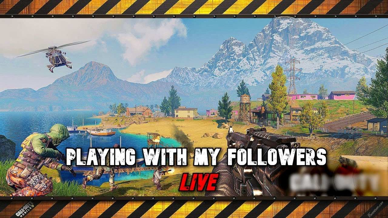 Playing with my followers - Call of duty Mobile - Battle Royale