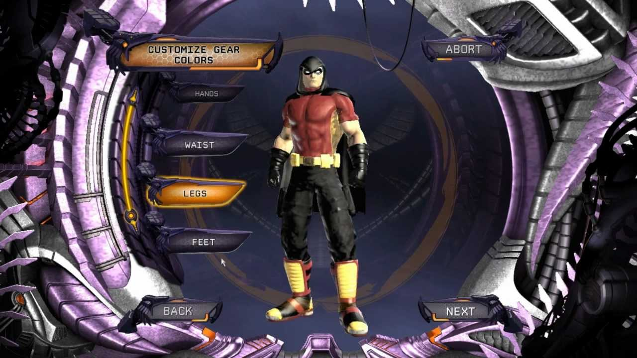 Dc Universe Online Arkham City Robin Character Creation Hd