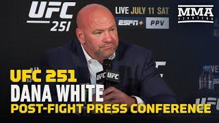 UFC 251: Dana White Post-Fight Press Conference - MMA Fighting