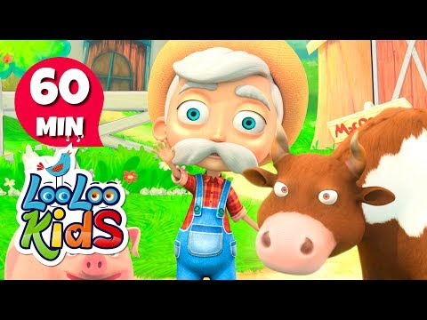Free Download Old Macdonald Had A Farm - Great Songs For Children | Looloo Kids Mp3 dan Mp4