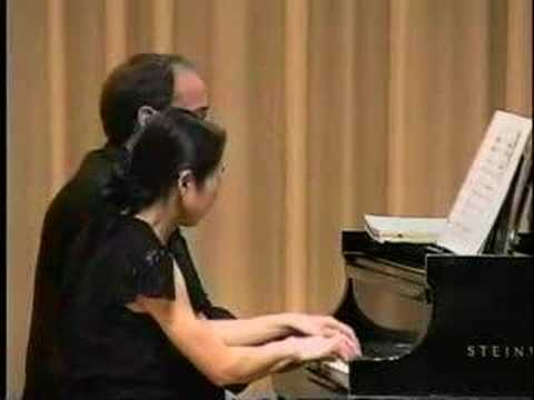 Debussy Petite Suite piano duet by DuoFisher