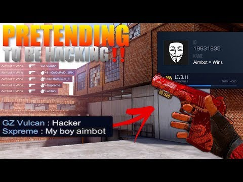 Standoff 2 Pro Pretending To Be Hacking With Aimbot‼️