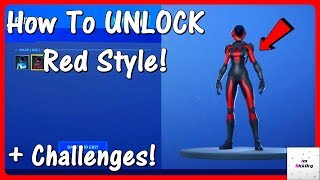 How To UNLOCK Astro Assassin Red Style & Challenges! (Gemini Skin Variant) | Fortnite