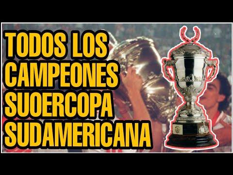 Todos los Campeones Supercopa Sudamericana