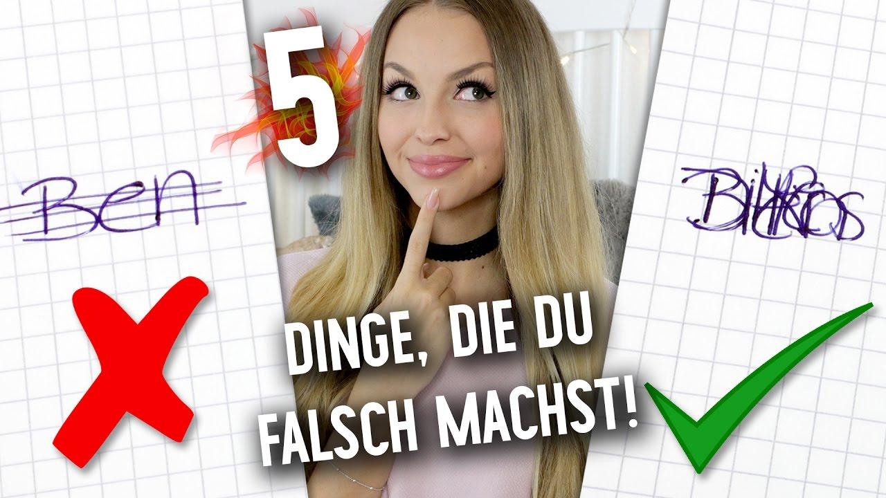 5 DINGE, die JEDER im Alltag FALSCH macht | XLAETA - YouTube