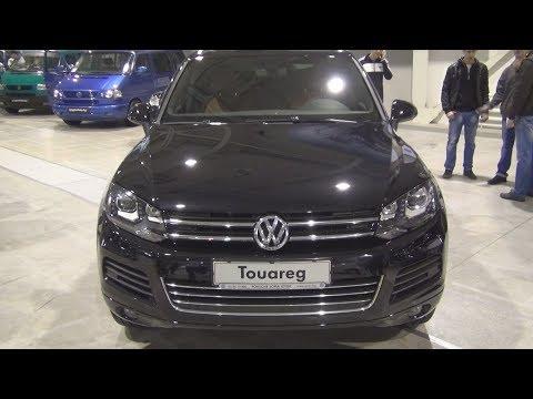 "Volkswagen Touareg ""Edition X"" V6 3.0 TDI BMT 4MOTION Exterior And Interior"