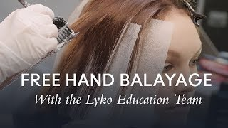 Lyko Foundation Techniques - Free Hand Balayage