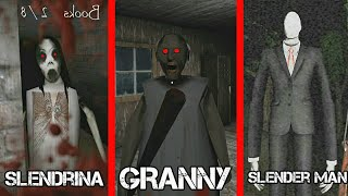 GRANNY VS SLENDRINA VS SLENDER MAN