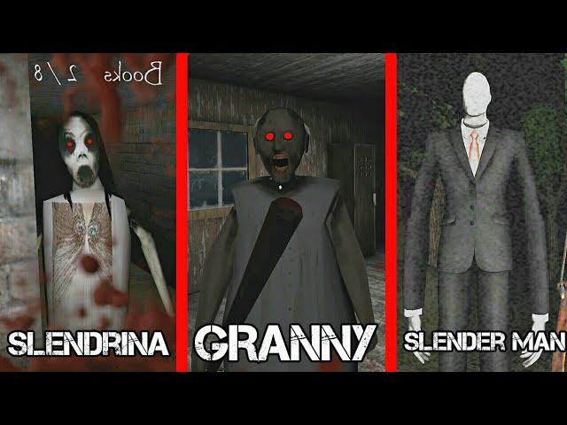 GRANNY VS SLENDRINA VS SLENDER MAN