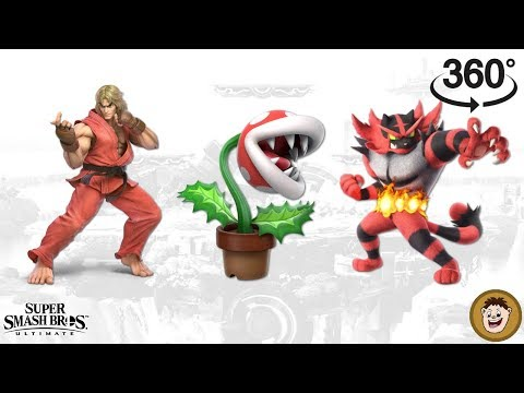 FINAL Super Smash Bros. Ultimate Banner [360 video] thumbnail