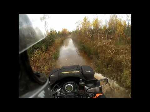 Water Water Everywhere - ATV Ride - October 23, 2016
