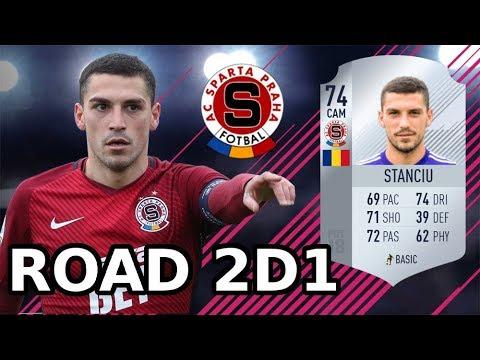 #05 Debut zimnej posily (Nicolae Stanciu) | Cesta do 1. div | AC Sparta Praha | FIFA 18 CZ SK