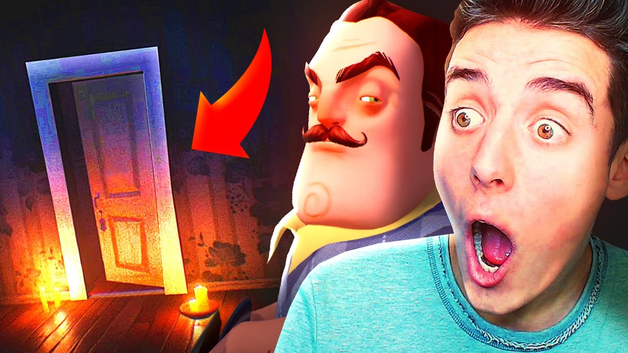 HELLO NEIGHBOR Bloopers From Whats In Your Basement